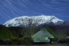 月夜の奥大山
