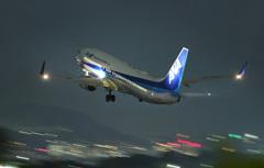 B737 Take off