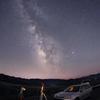 三朝高原の夜 星景色