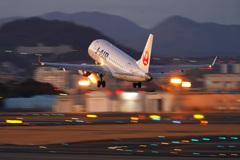 J-AIR 出発