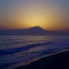 夜明けの大山