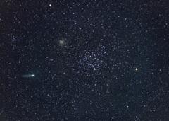 M35とチュリュモフ・ゲラシメンコ彗星