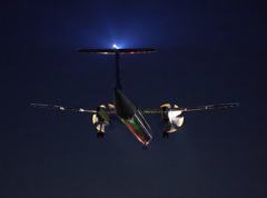 Night Arrival DH-8
