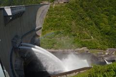 温井ダムの放水 Ⅱ