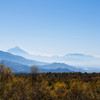 美し森 天女山からの富士山