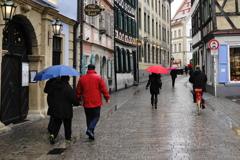 雨のバンベルク