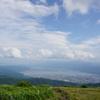 高ボッチ高原から見下ろす諏訪湖