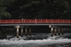 橋の名は観流橋