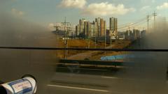走るリムジンバスの車窓からⅠ