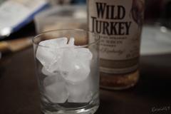 大きめの氷で