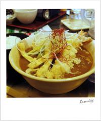天ぷらカレーうどん