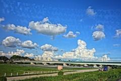 模様現象の雲