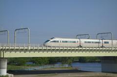 白いロマンスカー 小田急50000形 Vault Super Express V