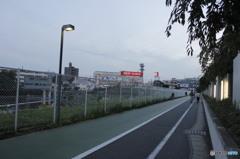 梶ヶ谷の風景 (夕方)