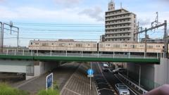 東京メトロ7000系(営団7000系)側面