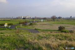 二子玉川緑地運動場にある公園
