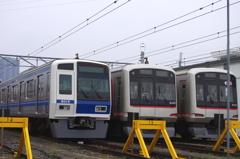 西武6000系と東急5050系
