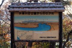 多摩川台公園からのながめ