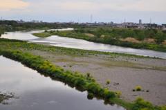 「平成から令和へ」の多摩川