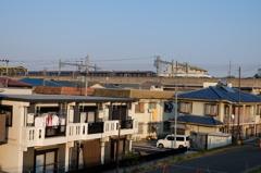 和泉多摩川駅通過する小田急30000形