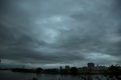 曇りの風景