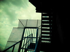入れない階段