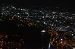 函館夜景の遊覧船