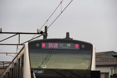 「[快速]川崎」行き
