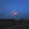 燃えるような雲