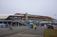 川崎市等々力陸上競技場 新メインスタンド