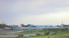 丸子橋から見える東京メトロ17000系