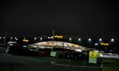 海老名サービスエリアの夜景