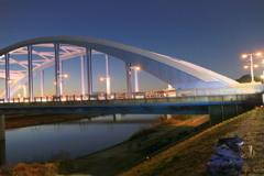 丸子橋の外灯