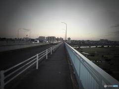 トイカメラの多摩川 by 国道246
