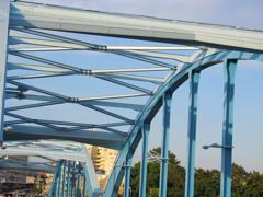 丸子橋のアーチ