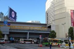 渋谷を渡る銀座線