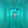 シャトレーゼ工場見学の美しい綺麗な廊下