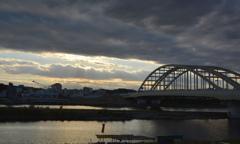 狛江の夕焼け