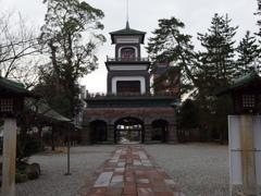 尾山神社にて 3