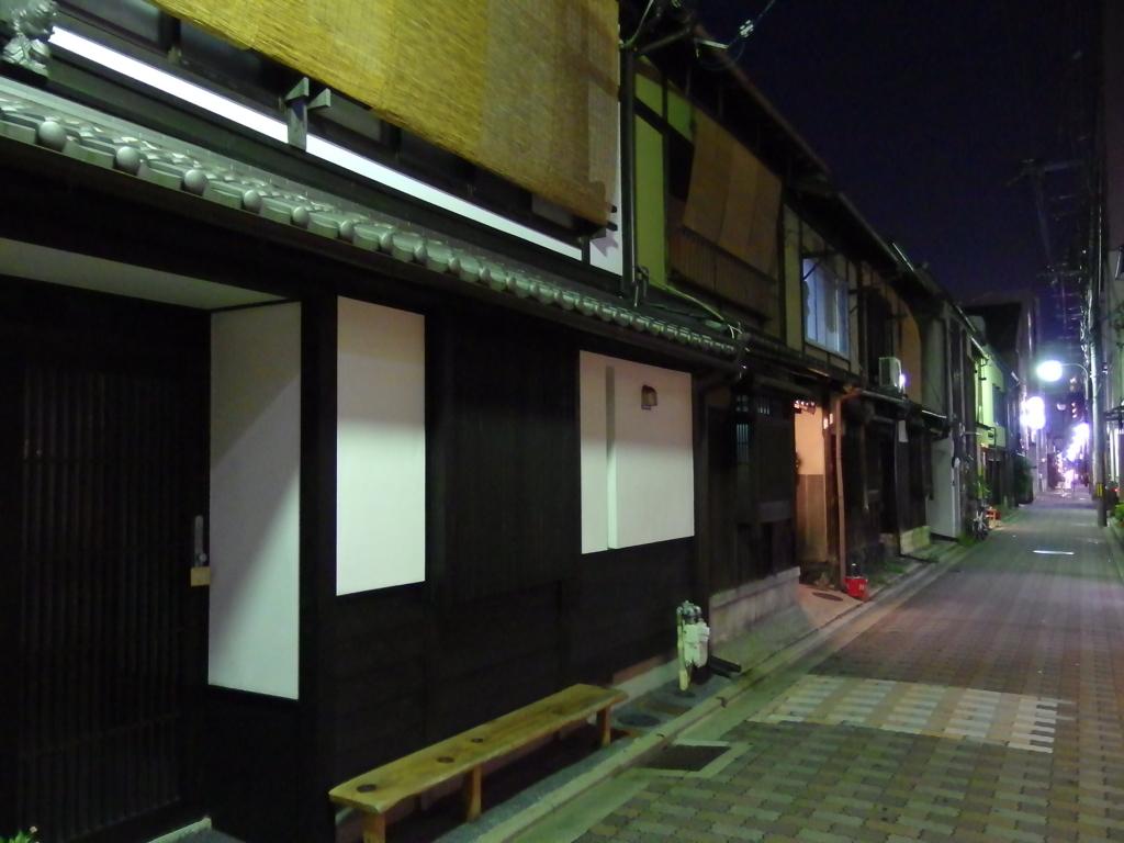 台風一過の夜 3