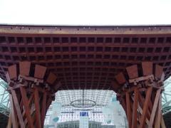 """金沢駅""""鼓門""""にて 2"""