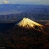 上空からの富士山 2019 師走 その1