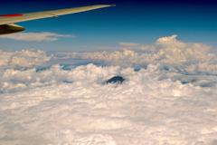 上空からの富士山 2019 文月 その1
