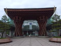 """金沢駅""""鼓門""""にて 1"""