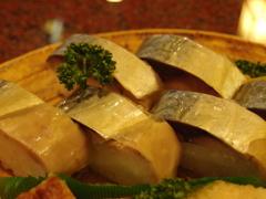 京都の鯖姿寿司