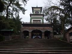 尾山神社にて 2