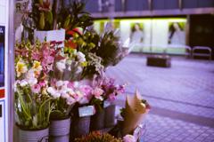 街角の花屋さん