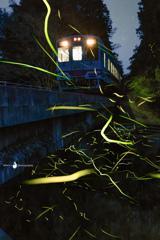 ホタル鉄道の夕べ