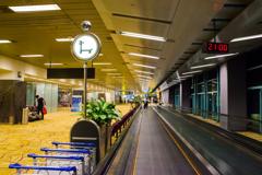 休暇明けの空港1