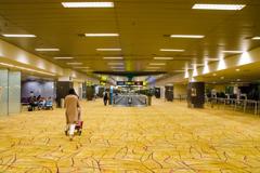 休暇明けの空港2